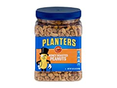 Planters Dry Honey Roasted Peanuts 34.5 Ounce 2 Pack