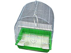 Dome Top Bird Cage - 3 Colors, 2 Sizes