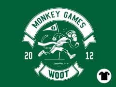2012 Woot Monkey Games - Kelly Green