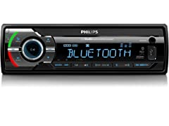 Philips Car Audio System w/ BT, USB, AUX