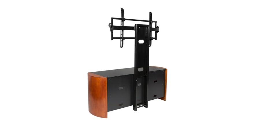 tv stand with tilt swivel mount for 37 70 tvs. Black Bedroom Furniture Sets. Home Design Ideas