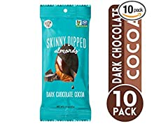 Dark Chocolate Covered Almonds, 10pk