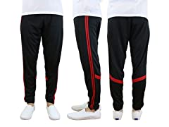 Men's Slim Fit Wicking Striped Jogger