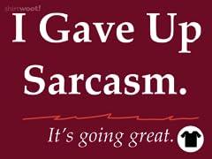 Sarcastic Resolution