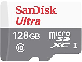 SanDisk 128GB microSD Memory Card