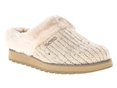 Skechers Womens Bobs Puffers,Natural(6)