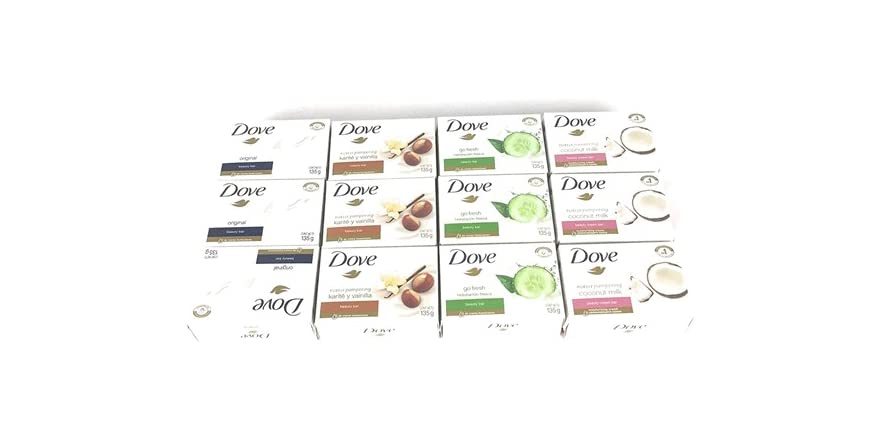 Dove Bar Soap Variety Pack 12 Count 135g | WOOT