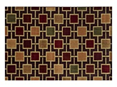 Parker Geometric Brown Rug - 5 Sizes