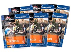 Mountain House Rice & Chicken 6-pack/pouches
