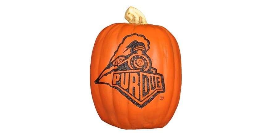 Resin Pumpkin Purdue