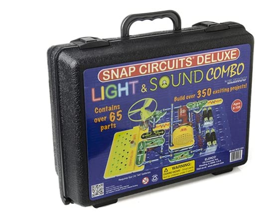 Elenco Snap Circuit Light Sound Combo W Case Kids Amp Toys