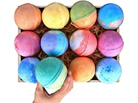 12-Pack 5oz Bath Bomb Gift Set