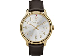 Timex Men's Classic Leather Watch