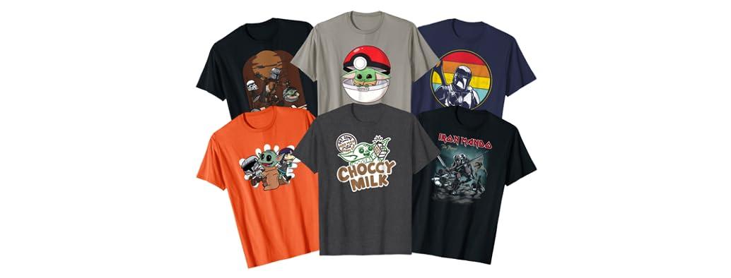 Mando's Back T-Shirts!