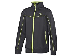 Fila Men's Full Zip Jacket - Black (L)