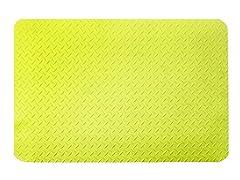 5' Dry Area Diamond Mat, Yellow