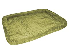 "Plush Pad Bed 25"", Sage"