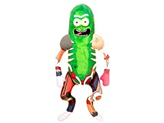 "Funko! Pickle Rick in Rat Suit 18"" Plush"