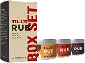 Till's Rubs 3-Pack Box Sets (2)