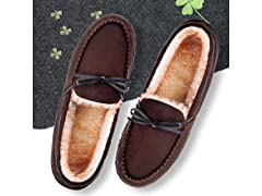 Men's Moccasin Warm Slippers