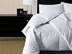 Level IV White Goose Down Comforter-2 Sizes