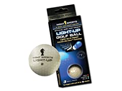 Night Sports Light-Up Golf Ball 3-Pack
