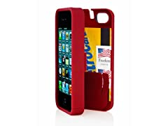 iPhone 4/4S Case w/Hinged Back - Red