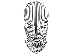 Badwood Ski Mask Pool Float