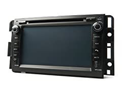 GM 2006-12 Direct Fit Multimedia+Navigation