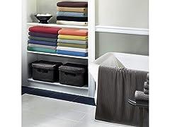 Soho Collection 600 GSM Cotton 6-Piece Towel Set