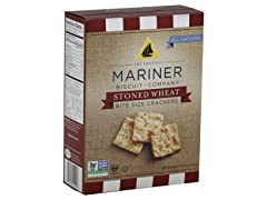 Mariner's Biscuit Co. Stoned Wheat Bite Size, 12-Pack