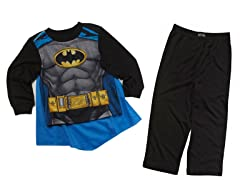 Batman 2pc Set w/ Cape (2T)