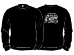 """Alcohol is a Solution"" Crewneck"