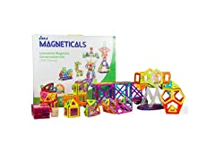 Magneticals Tile Set for Kids (198-Piece Set)