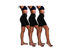 Sexy Basics Womens 3 Pack Spandex