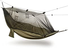 Hammock w/ Mosquito Net - Olive