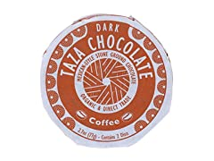 Taza Chocolate Organic Mexicano Disc 55% Dark Chocolate, Coffee