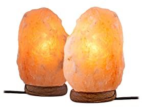 Salt Lamps Black Friday : 2-Pack 6 Himilayan Salt Lamp - Just USD 29.99! - Freebies2Deals
