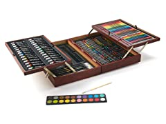 174-Piece Art Set in Wooden Case