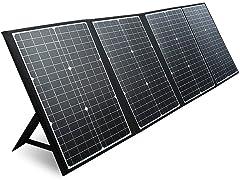 PAXCESS 120W Portable Solar Panel Black
