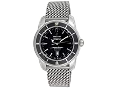 Men's Superocean Heritage Black Dial