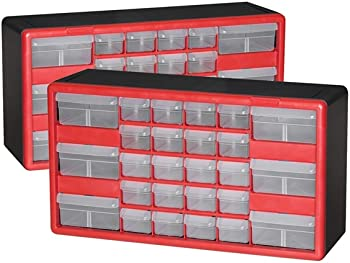 2-Pack Akro-Mils 26-Drawer Hardware & Craft Cabinets