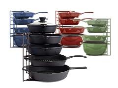 Cuisinel 5-Tier Pan Rack Organizer