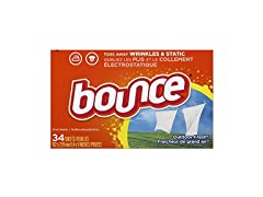 Bounce Fabric Softener Dryer Sheets 34ct