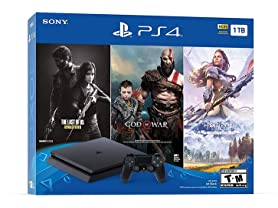 Sony PS4 Slim 1TB Console - Only On Playstation Bundle