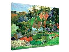 Paul Gauguin -  Landscape at Pont Aven