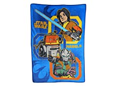 Rebels Plush Throw