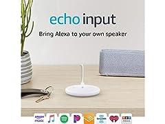 Echo Input – Bring Alexa to your speaker