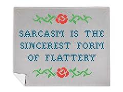 """""""Sarcasm Sampler"""" Blanket"""