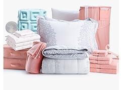 39-Piece Dorm Starter Pack